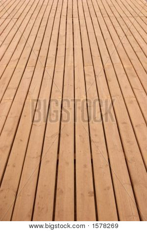 Wooden Deck Perspective