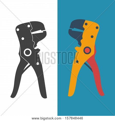 Wire Strippers, Set Icon.