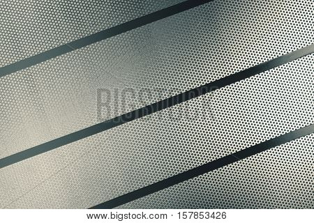 Perforated metal sheet background