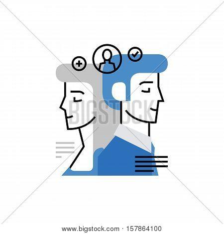Clients Monoflat Icon
