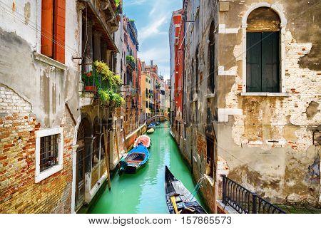 View Of The Rio De S. Maria Mater Domini Canal, Venice, Italy