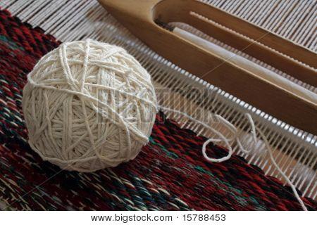 A Ball Of White Yarn