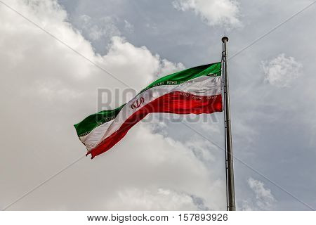 The current flag of Iran was adopted on 29 July 1980, and is a reflection of the changes brought about by the Iranian Revolution.