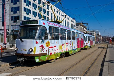 Tramway In Bratislava
