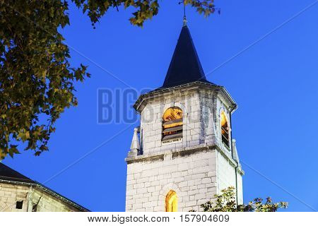 Saint-Francois-de-Sales Cathedral in Chambery. Chambery Auvergne-Rhone-Alpes France.