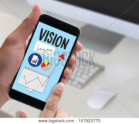 VISION Increase Quality Values mission vision beauty, black,