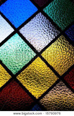 Patrón de ventana abstracta vitrage