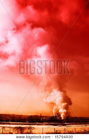Industrial smoke