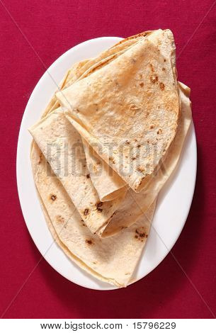 Chapattis From Above