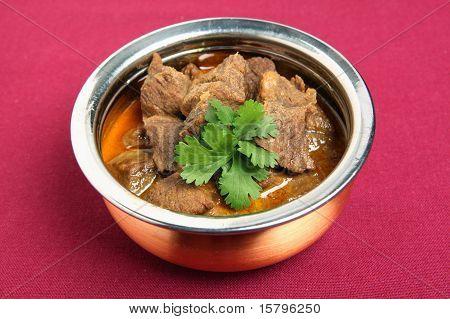 Beef korma bowl