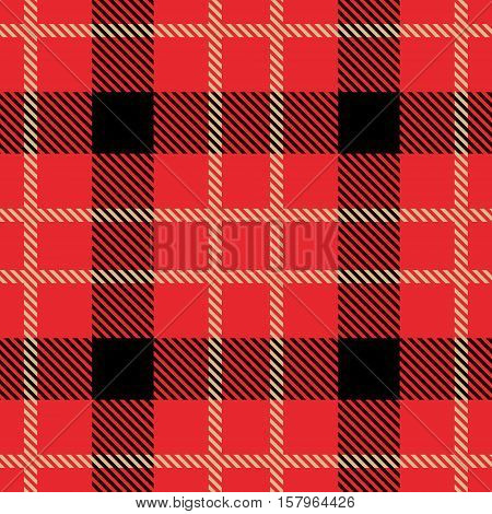 Tartan seamless pattern. Trendy illustration for wallpapers. Tartan plaid inspired background. Suits for decorative paper fashion design and house interior design as well as for hand crafts