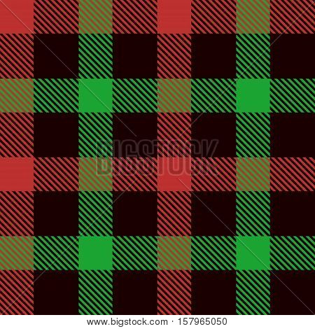 Christmas Tartan Seamless Patterns. Tartan plaid background. Seamless samples for background suitable for Christmas and New Year. Suits for decorative paper well as for hand crafts and DIY.
