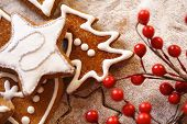 pic of christmas spices  - christmas gingerbread - JPG