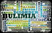 image of bulimic  - Bulimia Nervosa Eating Disorder as a Concept - JPG
