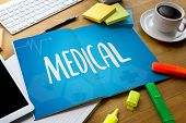 Medical Health Medical Service Medical Health Wellbeing Care  Medical Doctor , Confident Doctor  Med poster