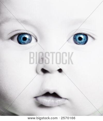 Closeup  Of Baby