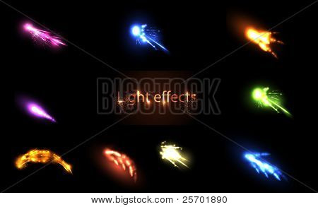 Light neon  Effects Set