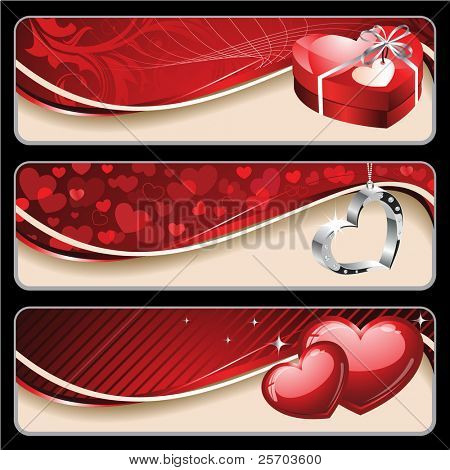 Banners Valentín