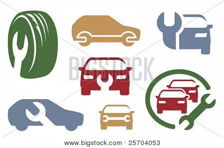 Elementos de reparación de automóviles