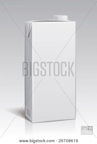 package two liter for new design, eps10 vector