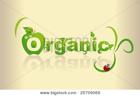 Word art - Organic