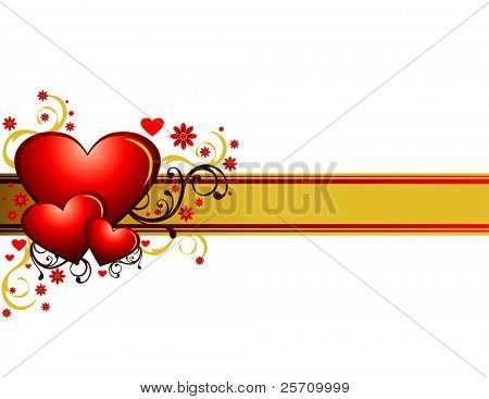 El día de los enamorados. Vector