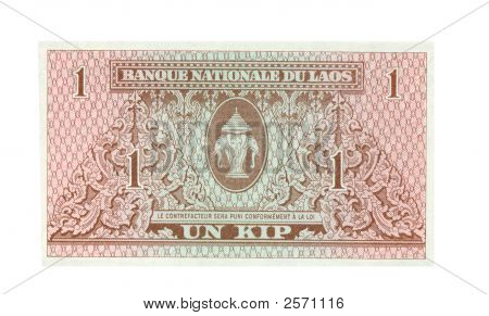 1 Kip Bill Of Laos