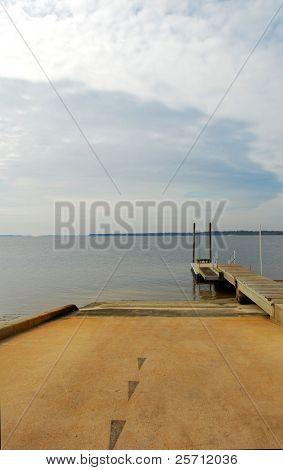 Deserted Boat Ramp