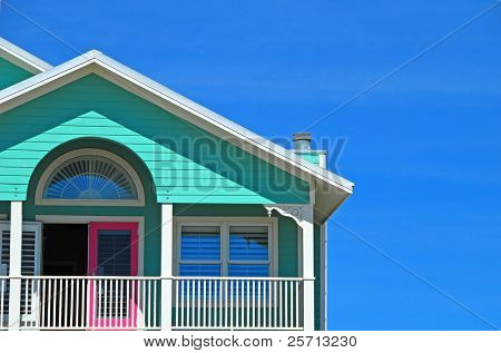 Candy Colored Coastal Home