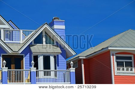Two Seaside Homes
