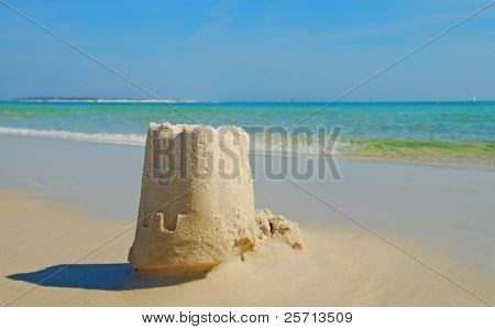 Sand Castle and Shadow