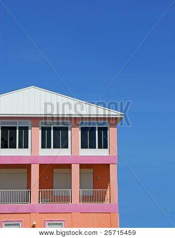 Pink and Peach Coastal Home
