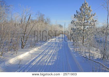 Cnowmobile Trail