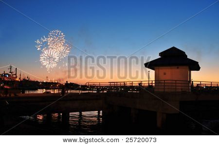 Fireworks Over Harbor