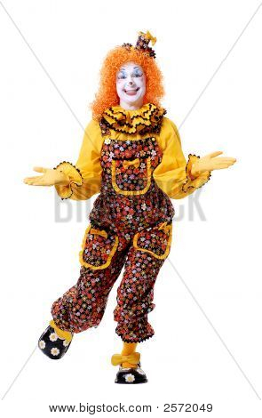 Perky Female Clown