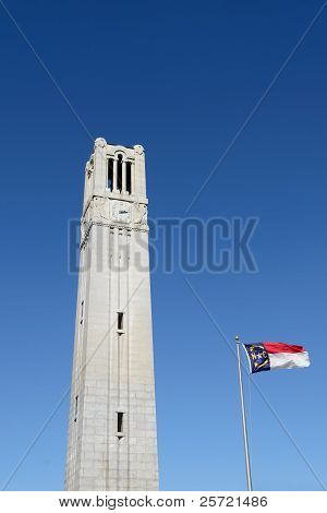 NC State University Bell Tower