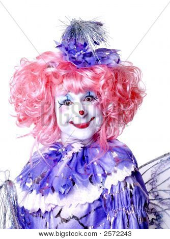 Circus Clown With Wings