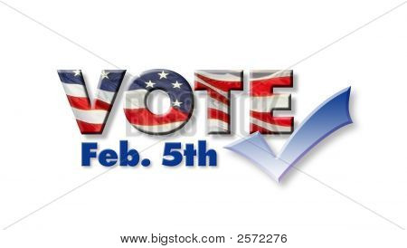 Vote Feb 5Th