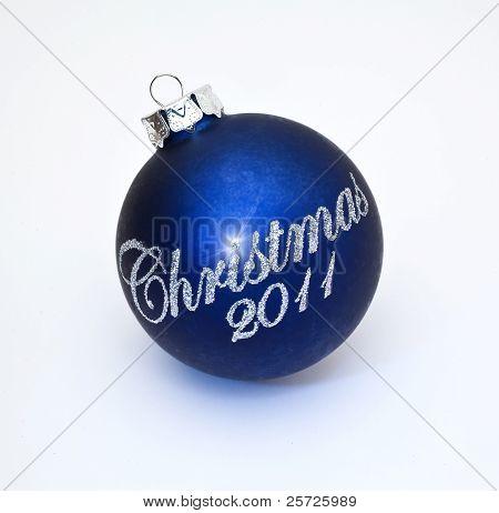Christmas 2011 tree decoration