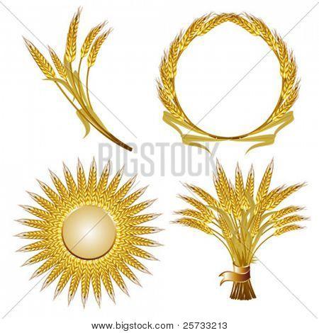 Set of wheat