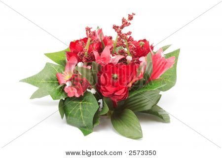 Decoration Of Artificial Flowers