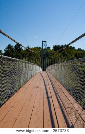 Long Pedestrian Bridge