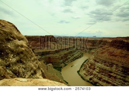 Bend On The Colorado River
