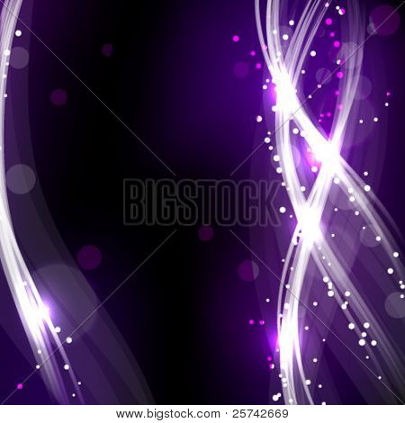 Abstract light drawing background