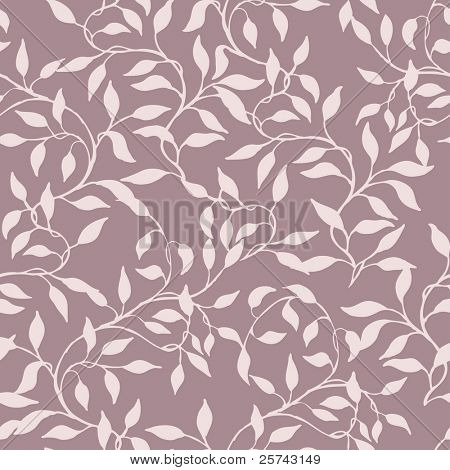 abstract seamless pattern with endless branches