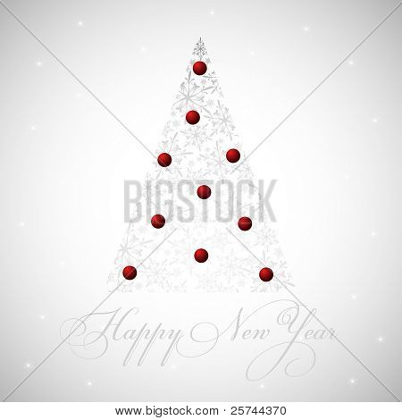 2011 new year card, vector EPS8