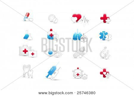 medical web icons