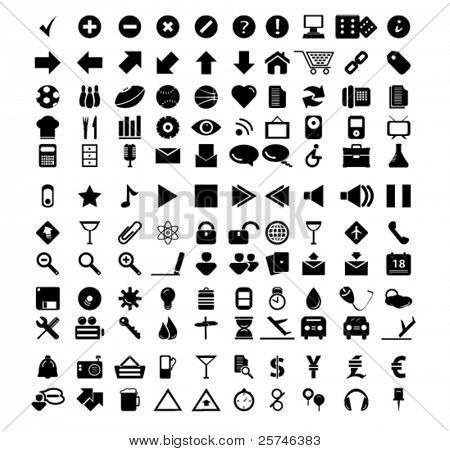 universelle Web-icons