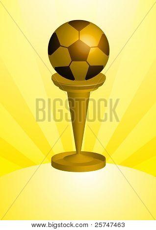 Soccer Ball Trophy