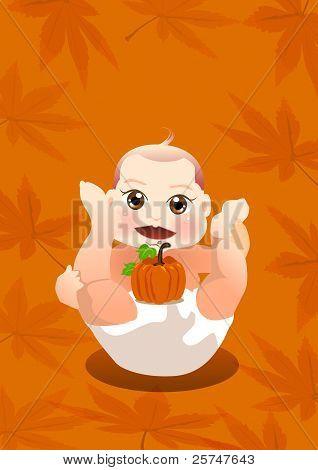 baby love pumpkin